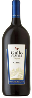 Gallo Family Vineyards Merlot 1.50l - Case of 6